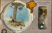 Reed And Barton For Baby Classic Pooh Plate - Stainless Steel Fork And Spoon