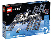 Lego Ideas International Space Station Iss Nasa Space Shuttle 21321 New With Box