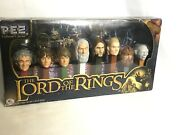 Collectible Pez Collector Series Limited Edition The Lord Of The Rings 8 Disp