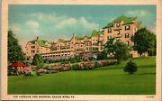 The Lakeside And Gardens Eagles Mere Pa Vintage Postcard Bb1