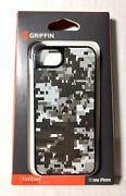 Griffin Pixelcrash Iphone 5/5s/se Hard-shell Case Qr Camo Gb35527 New-old-stock