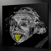 Albert Einstein Canvas Picture Print Wall Art Home Decor Free Fast Delivery