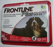 Frontline Plus, Extra Large Dogs 89 To 132 Lbs 3 Dose, Flea And Tick Treatment