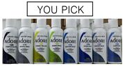 Pack Of 3 New Adore By Creative Image Semi Permanent Hair Dye - You Pick