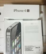 Brand New Factory Sealed And Unlocked Apple Iphone 4s 8gb Black Rare Never Opened
