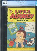 Little Audrey Yearbook - Rare - Cgc-6.0 Cr-ow - Tied Highest Graded Copy