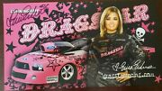 2007 Autograph Picture 3 X Champion Nhra Erica Enders Dragstar Ford Mustang