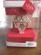 2018 Lenox Annual Holiday Christmas Tree Ornament 80 New In Box 1st Quality