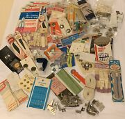 Huge Vintage Lot New And Pre-owned Sewing. Many Brands
