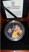 Mongolia 2007 1000 Togrog Series Tsars Of Russia - Ivan Iv Proof Silver Coin