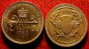 United Kingdom 2 Pounds 1989 And 1986 Commemorative Coins