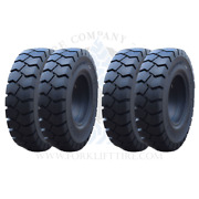 8.25x15 6.5 8.25x15 Forklift Solid Tires 8.25-15 825x15 82515 | Traction X4