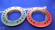 5 1/4 12 Unf 2a Thread Ring Gages 5.250 Go No Go Pds= 5.1939 And 5.1872 Inspection
