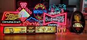 Antique Bar Neon Signs Fun Selling All 4 Signs Together