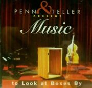 Penn And Teller - Penn And Teller Present Music To Look At Boxes By - Cd New 64