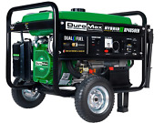 Duromax Xp4850eh Dual Fuel 36.6-amp Electric Start-wheelkit Battery Epa New