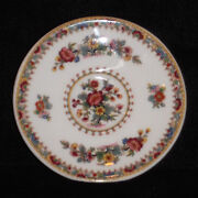 Rare Discontinued Coalport Ming Rose Pattern Mini/ Miniature Saucer Only New