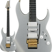 New And03920 Ibanez Prestige Rg5170g-svf Silver Flat Electric Guitar Hsh W/hsc