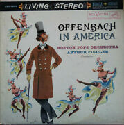 Rca Living Stereo Lsc-1990 White Dog Offenbach In America Fiedler Ex+/ex-