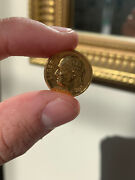 Rare Gold Plated Dime. Sent Into Circulation By Sprint Phone Company 1 Of 1000