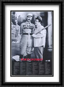 Abbott And Costello Who's On First 2x Matted 26x38 Black Ornate Framed Print