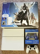 Rare Ps4 Console Limited Edition 500 Gb 500gb Destiny Bundle White Adult Owned