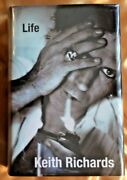 Rolling Stones Keith Richards Signed Book Life1st Ed Beckett Certified A08983
