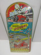 Old Vintage 50and039s Wolverine 500 Mile Speedway 21.5 Pinball Game Works