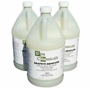 Industrial Strength Graffiti Remover 1 Gallon Biodegradable Opa Chemicals