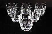 Waterford Crystal Kildare 9 Oz Old Fashioned Tumblers Glasses 3 3/8 Set Of 6