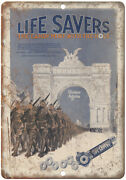 Life Savers Candy Mint Vintage Ad 10 X 7 Reproduction Metal Sign N423