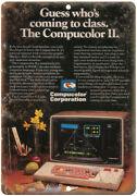 Compucolor Ii Vintage Microcomputer Ad 10 X 7 Reproduction Metal Sign D77