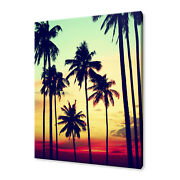 Coconut Palm Tree Canvas Print Picture Wall Art Home Decor Free Fast Delivery
