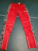 Menand039s Le Tigre Track Pant Lt-45-r Red Msrp 69 Free Ship