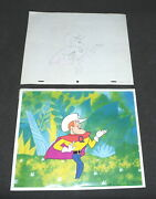 Jay Ward Quake Quisp Cereal 1960s Production Cel Commercial