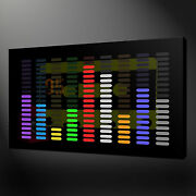 Music Equalizer Canvas Wall Art Pictures Prints Free Uk Pandp Variety Of Sizes