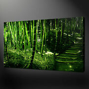 Bamboo Forest Canvas Wall Art Pictures Prints Variety Of Sizes Free Uk Pandp