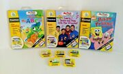 Leapfrog My First Leappad Educational Games Lot Of 8 , 3 With Books