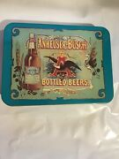 Anheuser-busch Bottled Beers Playing Cards With Tin Box