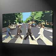 Beatles Abbey Road Canvas Print Picture Wall Art Free Fast Delivery