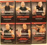 6 Georges Pierre Rushfit Workout Fitness Dvd Lot Fight Conditioning Strength Set
