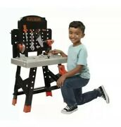 Black+decker Jr. Mega Power N' Play Workbench With Realistic Sounds - 52 Too...