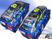 Jimmie Johnson 2006 Lowes Holiday Car By Sam Bass 1/24 Motorsports Authentics