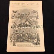 1873 Scribner's Monthly Old And New Louisiana. Mardi-gras Illustrations. L@@k