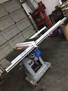 Used 10 Delta 220v 3hp 3 Phase Tilting Arbor Unisaw Table Saw