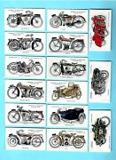 Cigarette Cards.lambert And Butler Tobacco.motor Cycles. Full Set Of 50 .1923