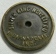 Machines Leased On Profit Sharing Basis Silver King Novelty Token 0219
