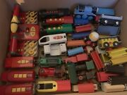 Huge 358 Piece Wooden Train Set And Rc Trains