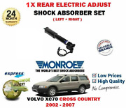 For Volvo Xc70 Cross Country 2002- 1x Rear Electric Adjust Shock Absorber Set