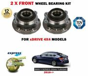 For Bmw Gt Gran Turismo Xdrive 535 550 530d 535d 2010- 2x Front Wheel Bearings